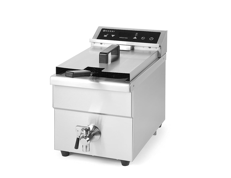 Hendi Kitchen Line - Freidora de inducción, 8 L, 1: Amazon.es: Industria, empresas y ciencia