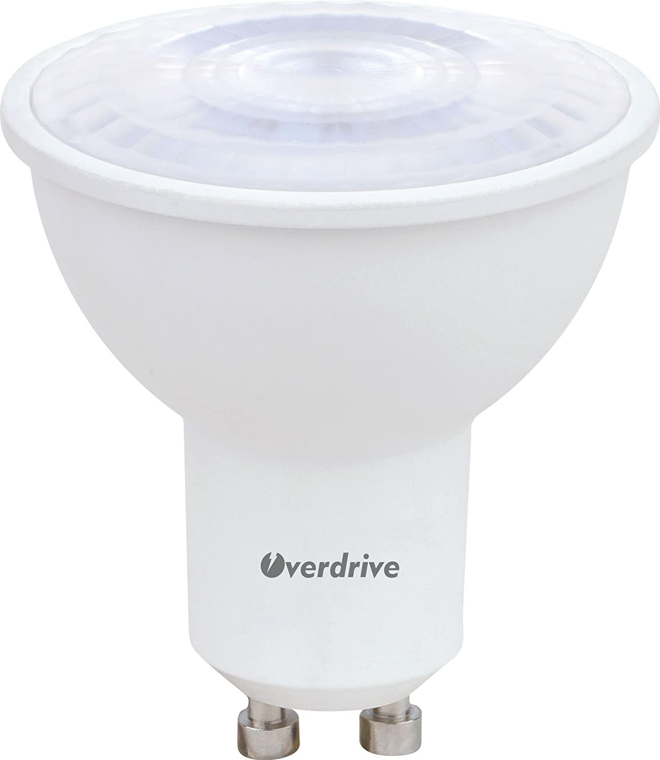 Overdrive 647 (12-Pack) 50 -Watts Equivalent Halogen MR16, LED MR16 Lamp, 120V AC, GU10, Soft White, Dimmable, Energy Star Qualified - - Amazon.com