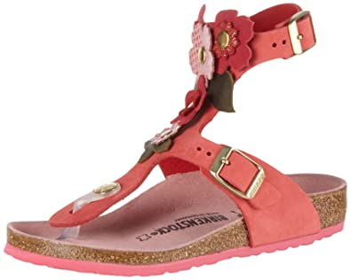 e07048567311 Birkenstock Girls  Gizeh High Flowers Ankle Pink Size  12  Amazon.co ...