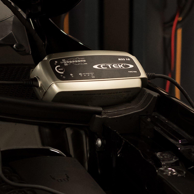 CTEK MXS 10 Batterie Ladegerät 12V PKW Auto Boot Transporter AGM GEL Säure KfZ