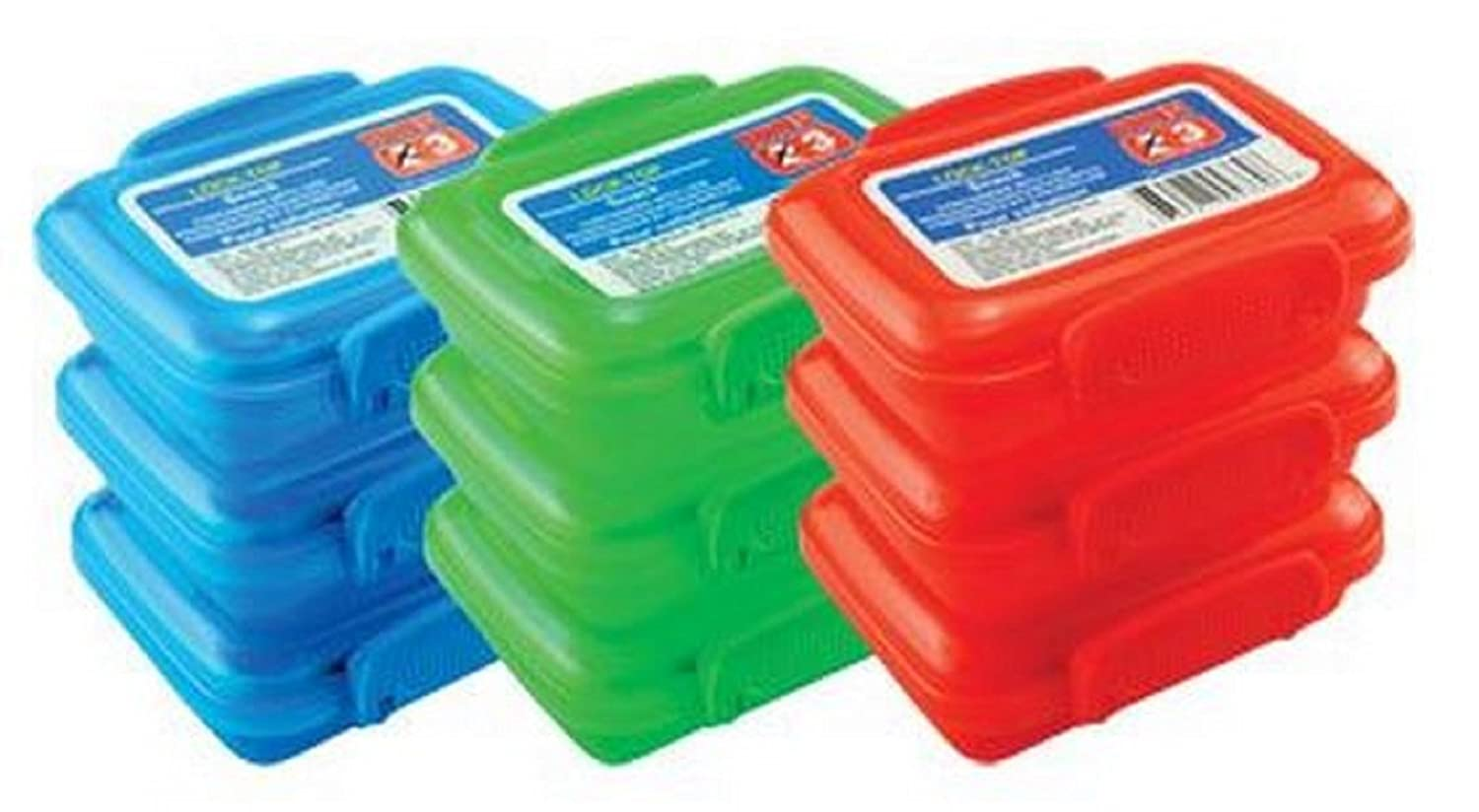 Amazoncom Plastic Storage Containers Small Mini Snap Lock Lids