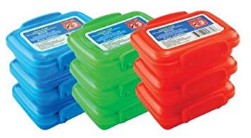 Plastic Storage Containers, Small, Mini, Snap Lock Lids, Reusable, For