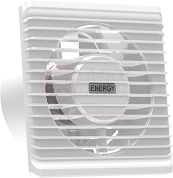 Ventilador Extractor de baño airRoxy planet eneRgy 125 S [125mm ...