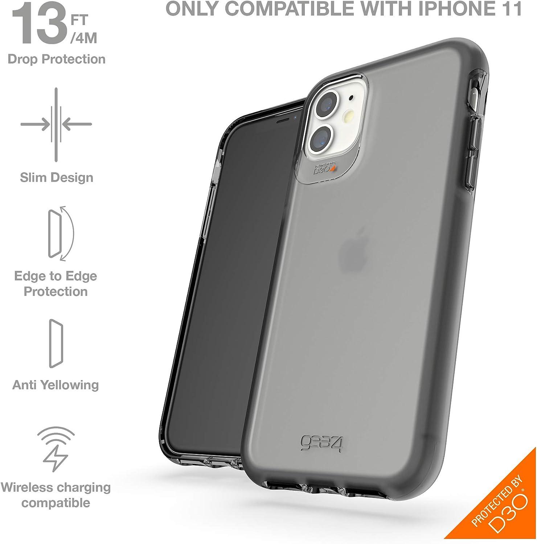 Rosa Ne/ón Gear4 Funda Crystal Palace Neon Compatible con iPhone 11 Anti-Amarilleo Carcasa para M/óvil con Protecci/ón Avanzada contra Impactos y Tecnolog/ía D3O Integrada