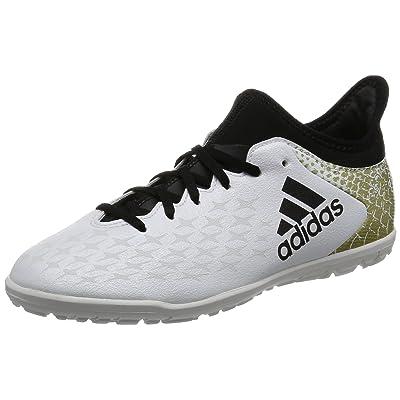 adidas X 16.3 TF J, Chaussures de Football Entrainement Mixte Enfant, Blu,Rosa