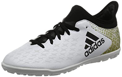 the best attitude 502a6 152ca adidas Boys X 16.3 Tf Football Boots, (FTWR WhiteCore Black