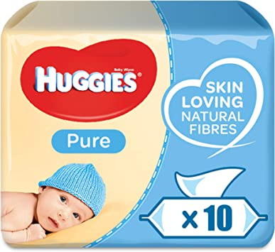 Huggies, Toallitas para Bebé - Pack de 10 x 56: Amazon.es: Salud y ...