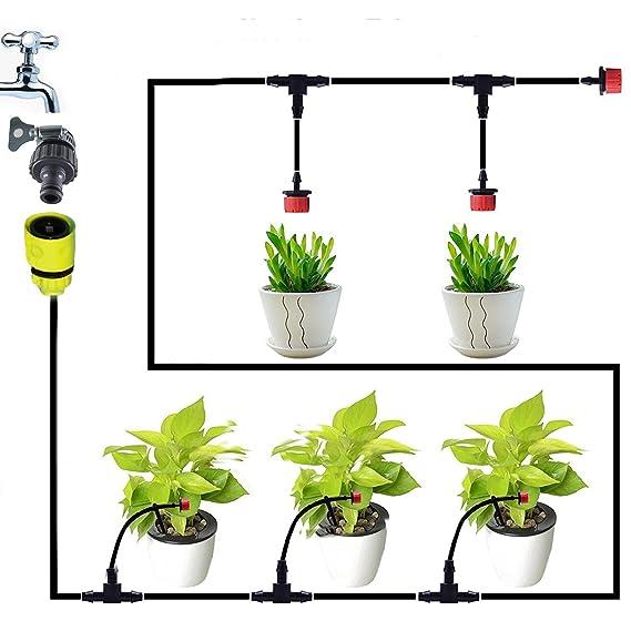 Aqualin 25m Automatische Micro Sprinkler Bewasserungssystem Garten