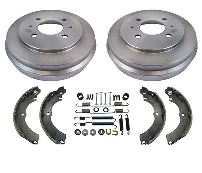 2011 For Mitsubishi Lancer Rear Drum Brake Shoes Set Both Left and Right with 2 Years Manufacturer Warranty
