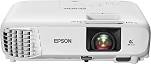 Epson Home Cinema 880 3-chip 3LCD 1080p Projector, Streaming Projector, Home Theater Projector, Built-in Speaker, Auto Keystone Adjustment, 16,000:1 Contrast Ratio, HDMI, White, Medium