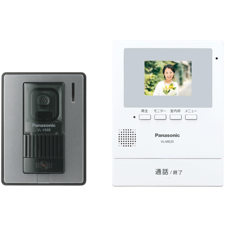 パナソニック(Panasonic) テレビドアホン (電源直結式) VL-SE25X B076Z9XQYQ