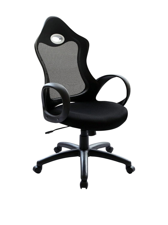 Lo Demoda Bouret Mesh Silla De Oficina Color Negro Amazon Es  # Taz Muebles De Oficina