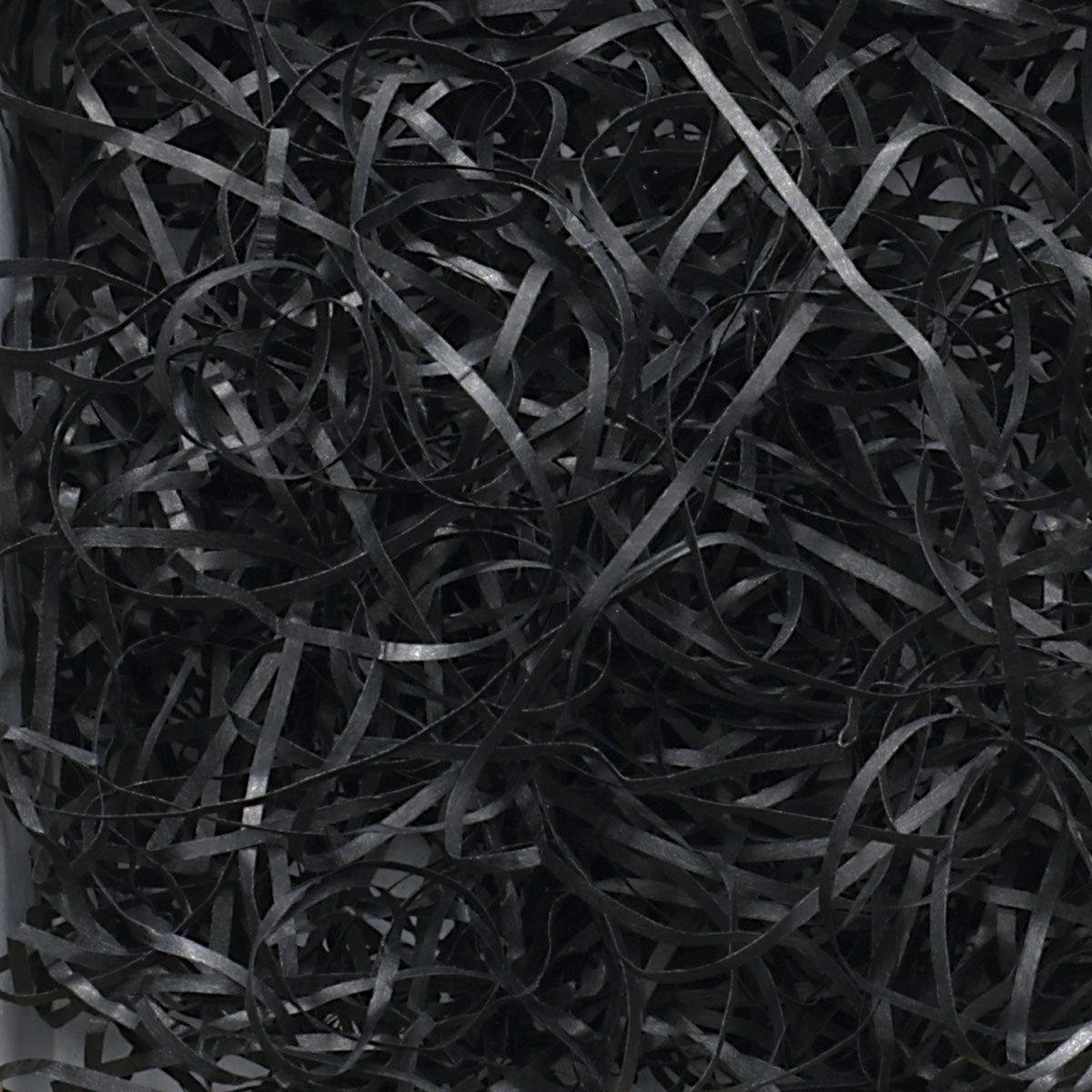 200g Shredded Paper - Black SizzlePak