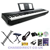Yamaha Digital Piano P-45 Bundle by Chase