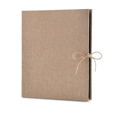 Album de Fotos Scrapbook, 60 Páginas Negras (30 Hojas), VEESUN DIY Scrapbooking Album Original para Boda Aniversario de Boda de Oro Cumpleaños Navidad ...