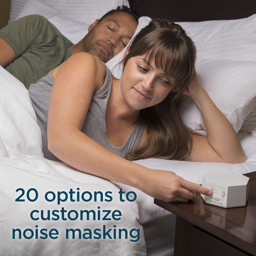 LectroSound White Noise Machine for Sleep and Relaxation
