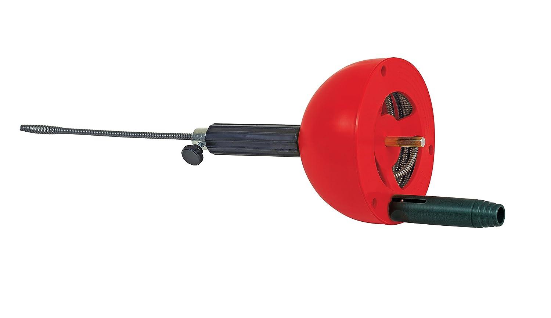 Spirale 072990E geeignet f/ür Bohrmaschine /& Akkuschrauber Abfluss in Bad oder K/üche verstopfte Abfl/üsse ROTHENBERGER Industrial Rohrreinigungs 4,5 m lang