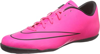 especificación yo encuesta  Amazon.com | Nike Mercurial Victory V Ic Mens Football Trainers 651635  Sneakers Shoes (US 11.5, Hyper Pink Black 660) | Soccer