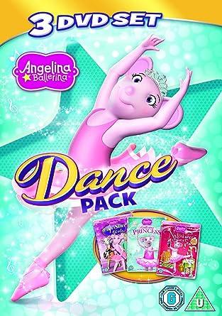 Angelina Ballerina: Dance Pack triple pack The Nutcracker