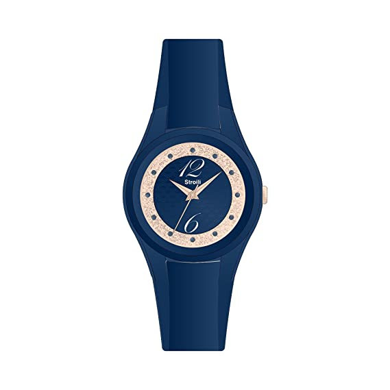 STROILI Reloj mujer solo tiempo de silicona colección Istant Chic: Amazon.es: Relojes