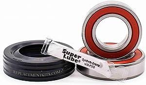 REPLACEMENTKITS.COM - Brand Fits Whirlpool Cabrio Bravo Oasis Washing Machine Bearing & Seal Kit Replaces Whirlpool W104535302 -