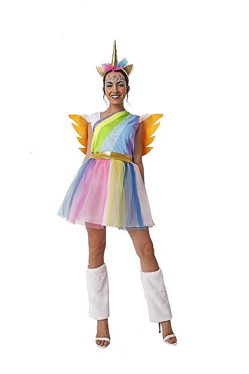 Costumizate! Disfraz de Unicornio para Adulto Especial para Fiestas de Disfraces y Carnaval Talla Unica