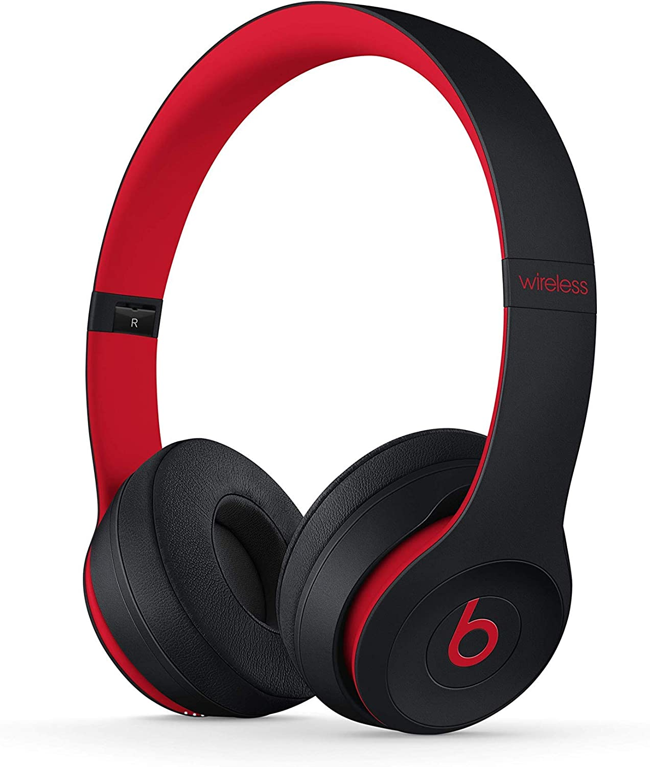 Amazon Com Beats Solo3 Wireless On Ear Headphones The Beats Decade Collection Defiant Black Red Renewed Electronics
