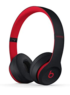 e94b7cb945f Beats Solo3 Wireless On-Ear Headphones - The Beats Decade Collection -  Defiant Black-