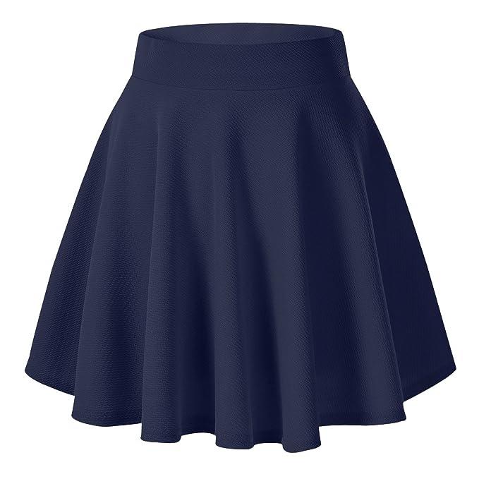 Falda plisada elastica multifunción para fiesta - Mini falda plisada para conbianr con medias.