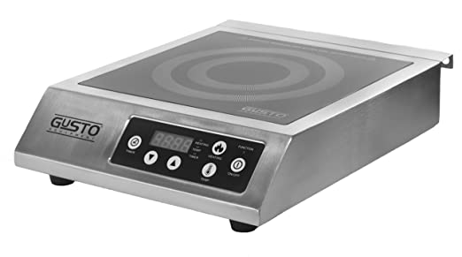 Amazon.com: GUSTO – 120 V portátil Countertop Rango de ...