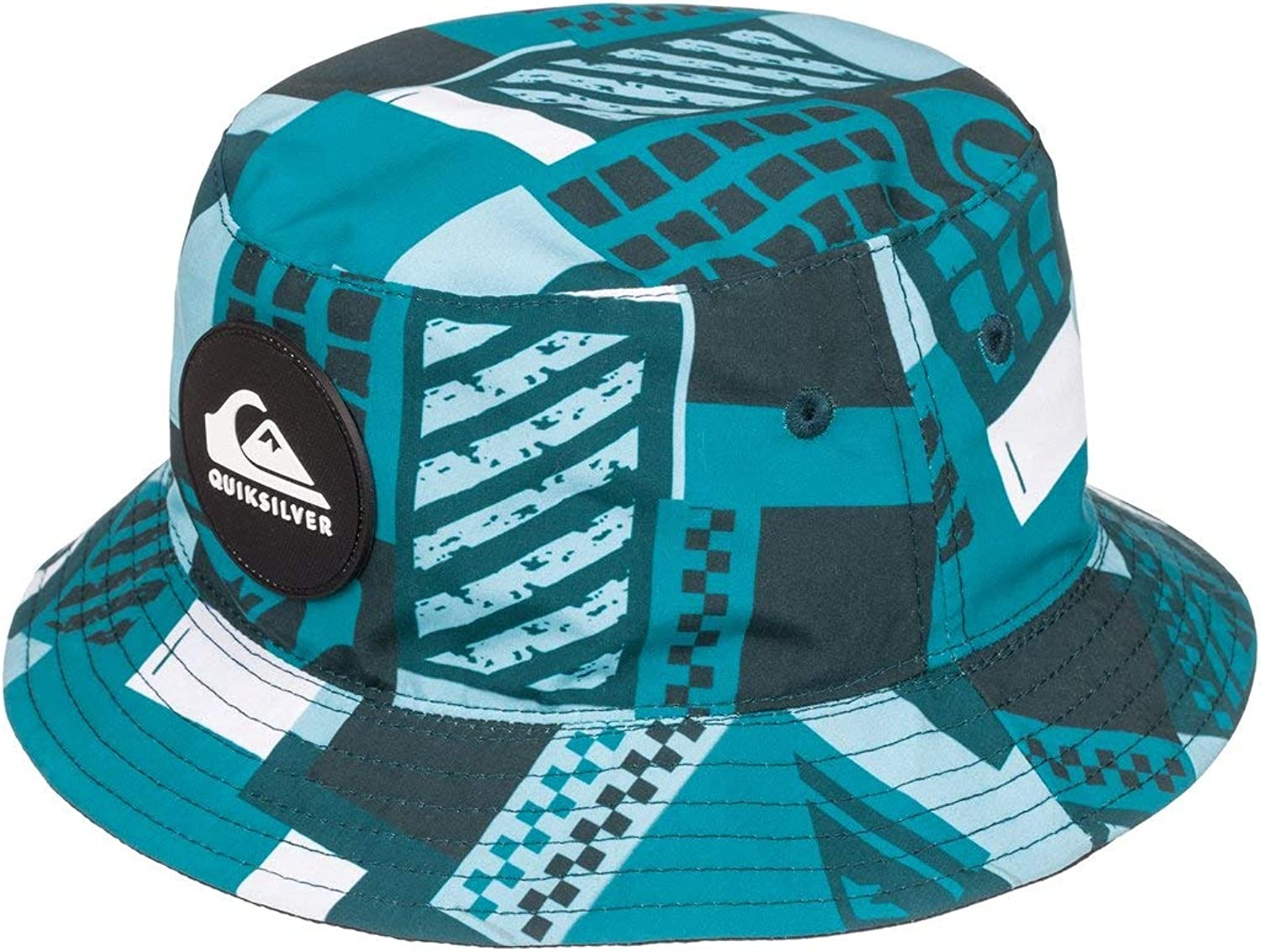 Quiksilver Little LURKERIZE BOY Sun Protection HAT 1SZ Southern Ocean