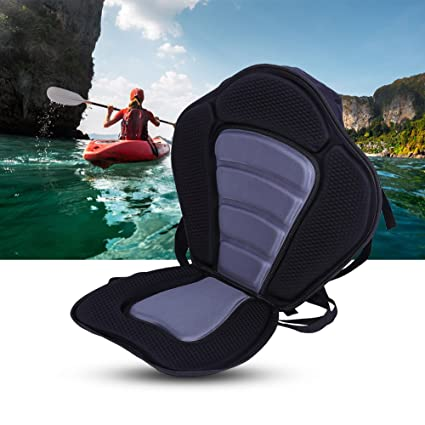 Amazon com: T-best Adjustable Padded Kayak Seat and