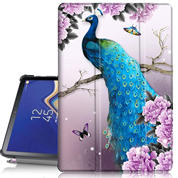Galaxy Tab S4 case 10 5, PIXIU Unique Print Lightweight Smart Cover with  Auto Sleep Wake Function Folio PU Leather case for Samsung Galaxy Tab S4