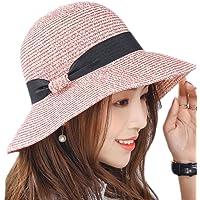 Leisial Sombrero de Pescado Paja Gorro de Playa