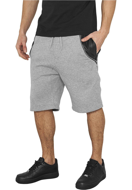 Urban Classics Herren Side-Zip Leder Imitation Hose 113898
