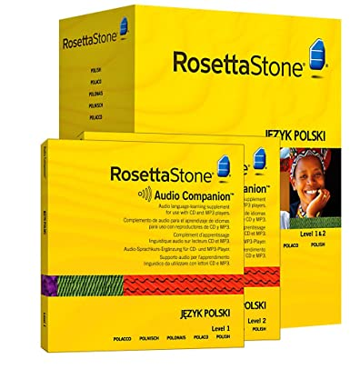 Buy Rosetta Stone - Learn Polish (Level 1, 2, 3 Set) Cheap