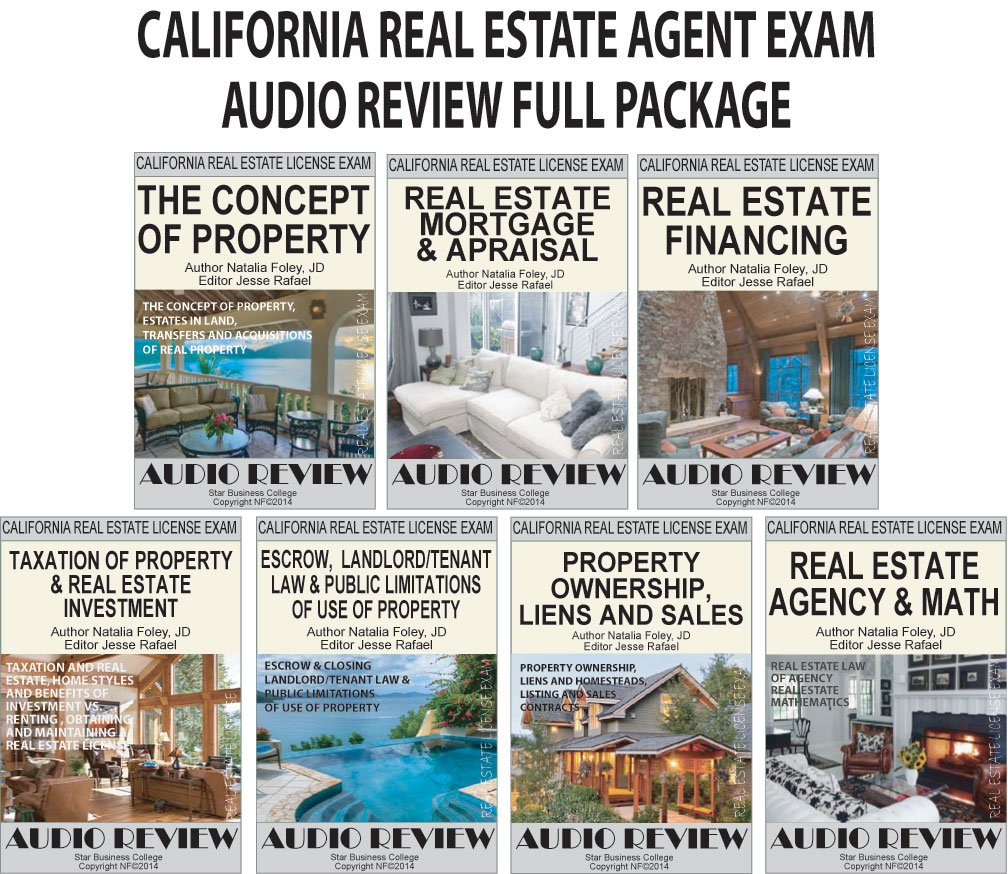 Download California Real Estate Agent Exam Audio Review (Full Package) pdf epub