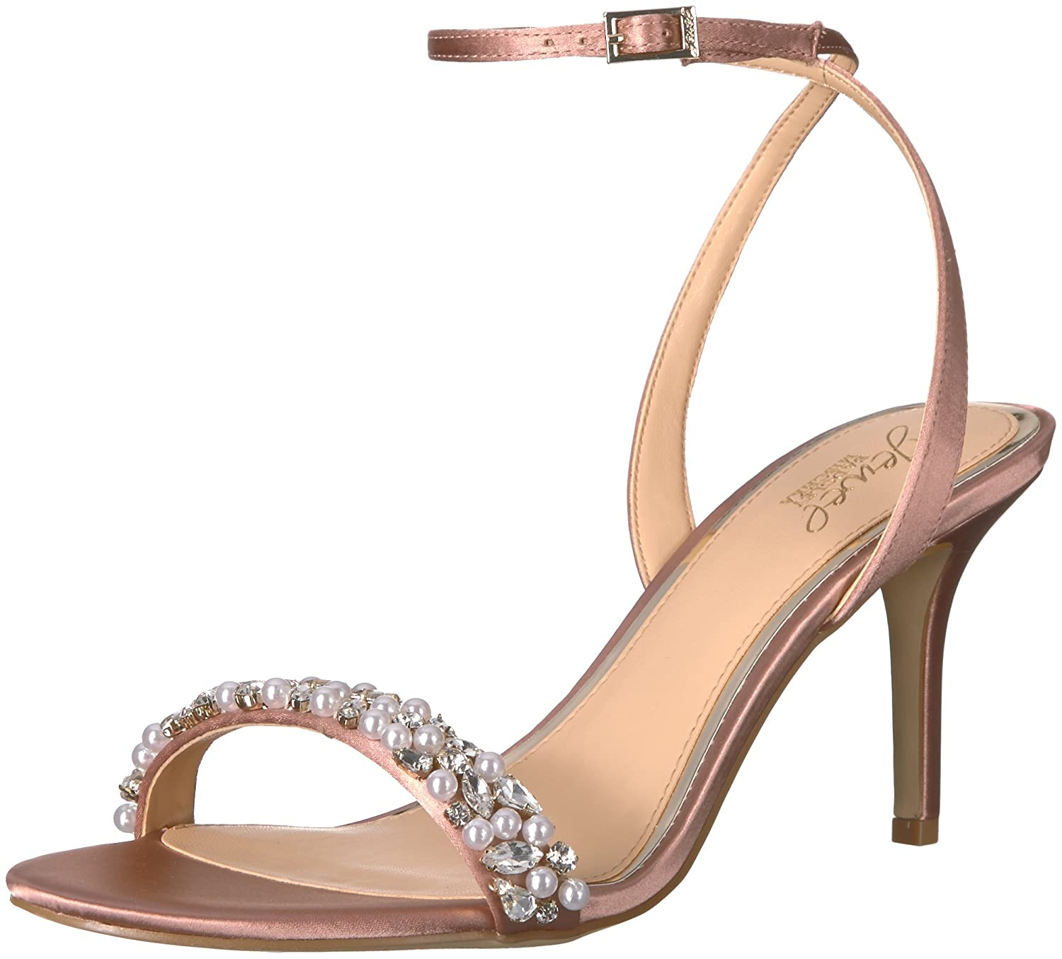 Badgley Mischka Jewel Women's Theodora Heeled Sandal Jewel Badgley Mischka JW2320