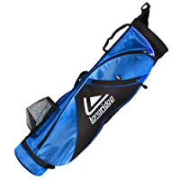 Longridge Unisex's X-LITE Pencil Golf Bag, Black, 5-Inch
