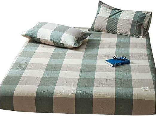 Pretty-Shop - Juego de sábanas bajeras 100% algodón para Cama ...