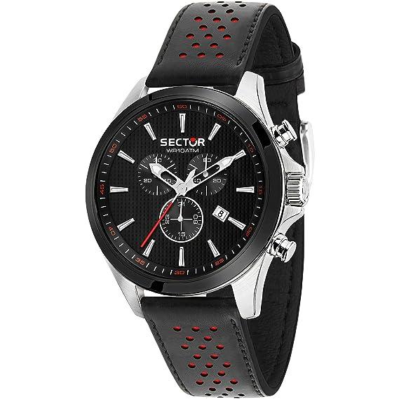 Reloj Sector cronógrafo de Hombre 180 Casual COD. r3271975005: Amazon.es: Relojes