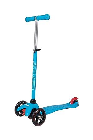 Evo 1437122 Atom® - Patinete pequeño, Color Azul: Amazon.es ...