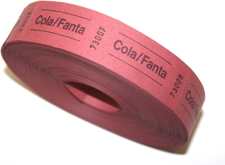 Cola Bonrolle//Fanta rosso in alluminio 1000 demolizioni