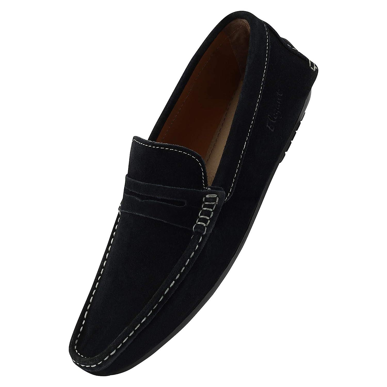 Elegant Suede Leather Loafers for Men
