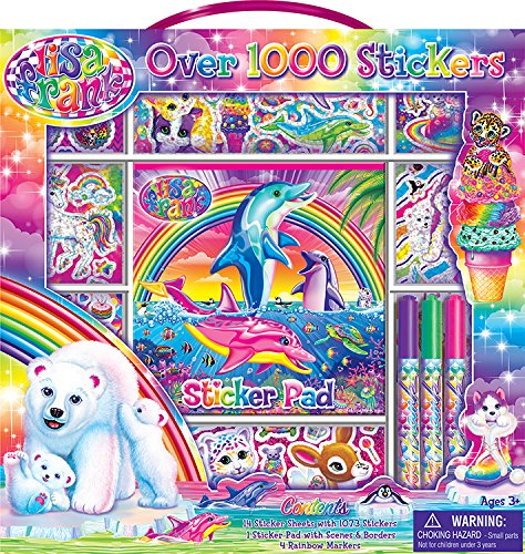 (Bendon Lisa Frank Sticker Activity Set)