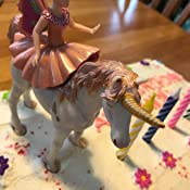 Papo Elf Ballerina and Her Unicorn Hotaling 38822 B004JQIT1S