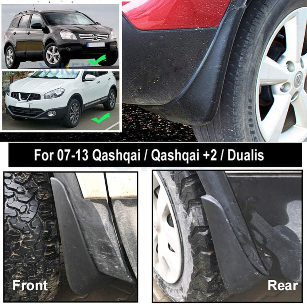 Dualis 2007-2013 J10 Paraspruzzi Paraspruzzi Parafanghi Fender Parafango Fango Auto Flap per Nissan Qashqai +2