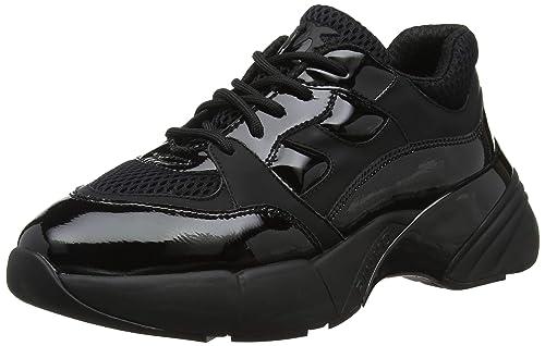 78f533ae36d Pinko Women's Rubino Sneaker Rete Tecnica Gommato Slip On Trainers, Black  (Nero Limousine Z99