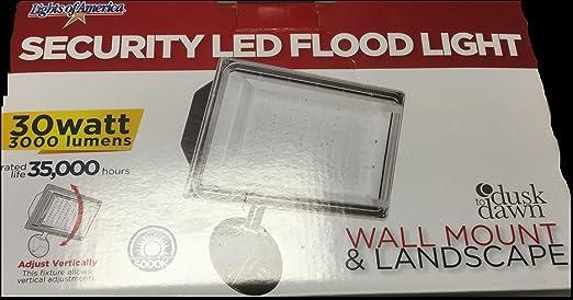 Lights of america security led flood light 30w 3000 lumens lights of america security led flood light 30w aloadofball Images