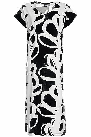 Nanso Verso Langes Nachtkleid, Länge 120cm Damen: Amazon.de: Bekleidung